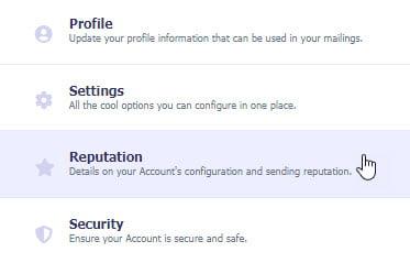 Account Reputation
