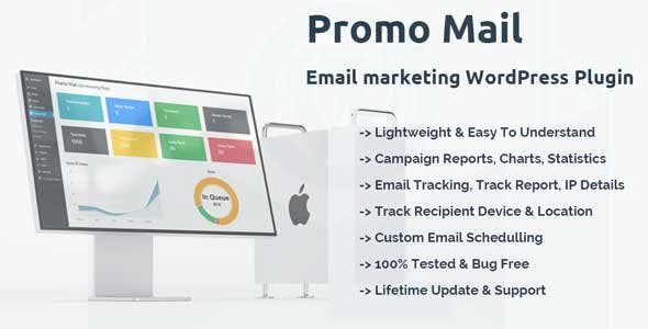 افزونه پرومو ایمیل برای بازاریابی ایمیل وردپرس