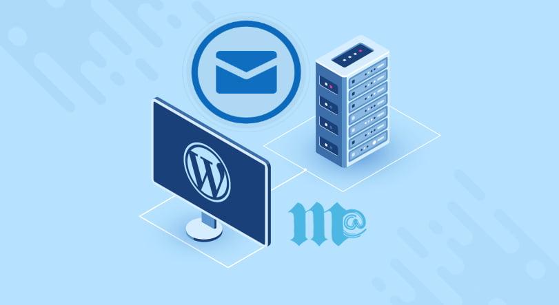 اتصال ایمیل های سایت وردپرس